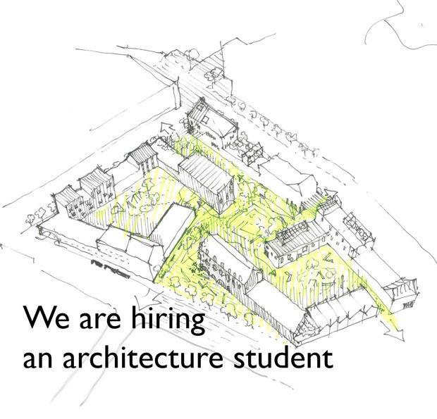 Etsimme joukkoomme arkkitehtuurin opiskelijaa